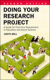 Doing your research project: a guide for first-time researchers in education and social science/ Judith Bell